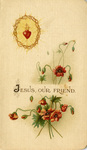 Jesus Our Friend holy card