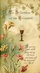 Sweetness of the Eucharist holy card