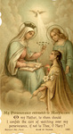 Mary's care holy card