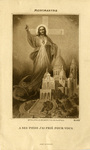 Montmartre holy card