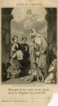Cachet de l'adoption holy card