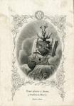Heart of Mary holy card