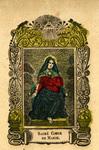 Sacré Cœur de Marie holy card