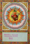 Heart of Mary holy card