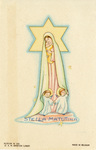 Stella Matutina holy card