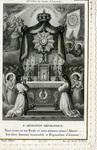 L'adoration réparatrice holy card