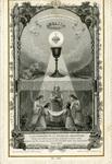 L'eucharistie et la jeunesse chrétienne holy card