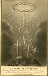Le temps des épreuves holy card