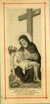 Mére de Douleurs holy card