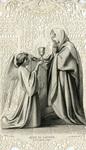 Mére du Sauveur holy card