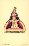 Queen of Peace holy card