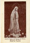 Nuestra Señora del Rosario de Fátima Misionera del Perú holy card