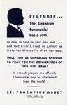 Unknown Communist holy card