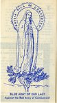Blue Army prayer leaflet