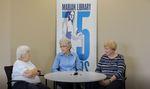 Lois Brun, Ginny Saxton, Ann Persensky: Marian Library Oral Histories by Lois Brun, Ginny Saxton, Ann Persensky, and Kayla Harris