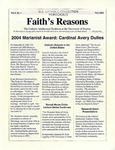 Faith's Reasons