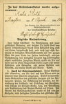 German Apostleship of Prayer membership card
