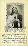 Apostleship of Prayer membership card by Apostleship of Prayer