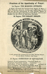 September 1896 League Leaflet by Apostleship of Prayer