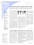 Voices Raised, Issue 10 by University of Dayton. Women's Center