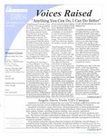 Voices Raised, Issue 26 by University of Dayton. Women's Center