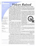 Voices Raised, Issue 27 by University of Dayton. Women's Center