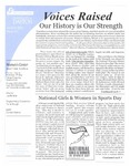 Voices Raised, Issue 31 by University of Dayton. Women's Center