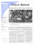 Voices Raised, Issue 34 by University of Dayton. Women's Center
