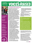 Voices Raised, Issue 45 by University of Dayton. Women's Center