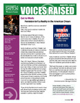 Voices Raised, Issue 46 by University of Dayton. Women's Center