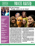 Voices Raised, Issue 48 by University of Dayton. Women's Center