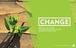 Postcard: 'Change' by University of Dayton