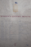 2008 Women's History Month 1st Place Poster by University of Dayton