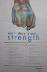 2011 Women's History Month 1st Place Poster by University of Dayton