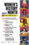 2017 Women's History Month 1st Place Poster by University of Dayton