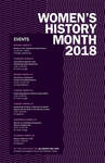 2018 Women's History Month 1st Place Poster by University of Dayton