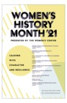 2021 Women's History Month 1st Place Poster by University of Dayton